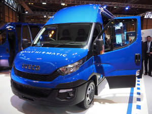 Iveco's new Daily has just been voted van of the year 2015