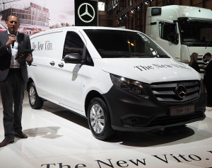 New Vito from Mercedes.