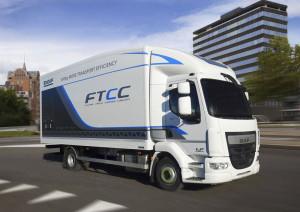 DAF prototype 12 tonne distribution truck