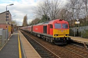 DB_Schenker_Class_60,_60020,_Whiston_railway_station_(geograph_3819351)