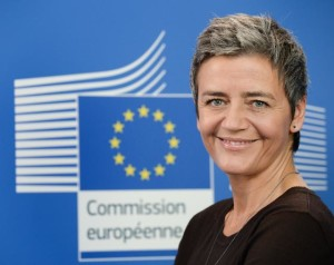 Commissioner Margrethe Vestager, in charge of competition policy.