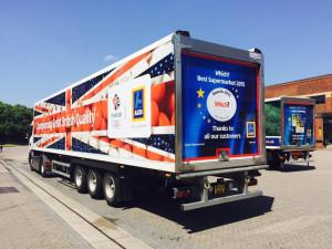 Aldi Team GB Truck Liveries