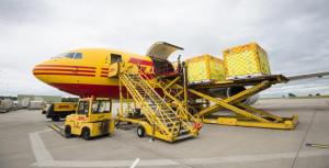 DHL Aircraft (formula E)