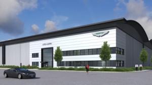 aston martin logistics centre wellesbourne