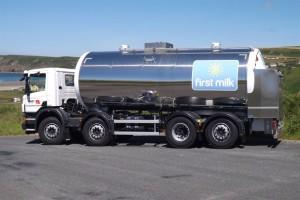 Bibby new milk truck