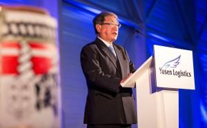 Yusen Logistics president Hiromitsu Kuramoto