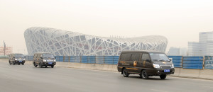 UPS Vehicles in Beijing, China 1