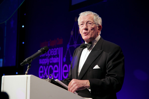 Nick Hewer hosted the evening and revealed the inside story of working on The Apprentice.