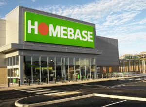 Opening of Homebase Store.Dysart RoadGrantham