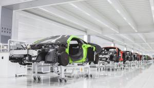 McLaren Production centre at Woking.