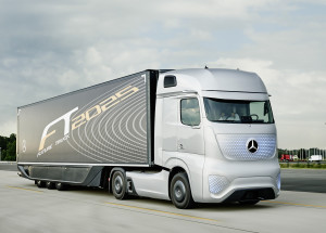 Shaping Future Transportation 2015– Campus Safety – Mercedes-Benz Future Truck 2025