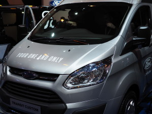 Ford Transit Custom.