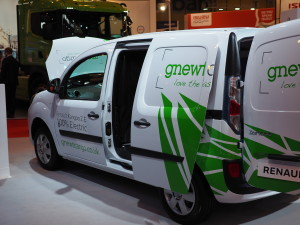 Renault's electric Kangoo