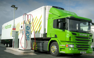 Waitrose Gas powered Scania