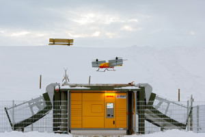 Parcelcopter Skyport in  Reit im Winkel. Pic: Andreas Heddergott