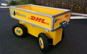 DHL starts testing warehouse robots