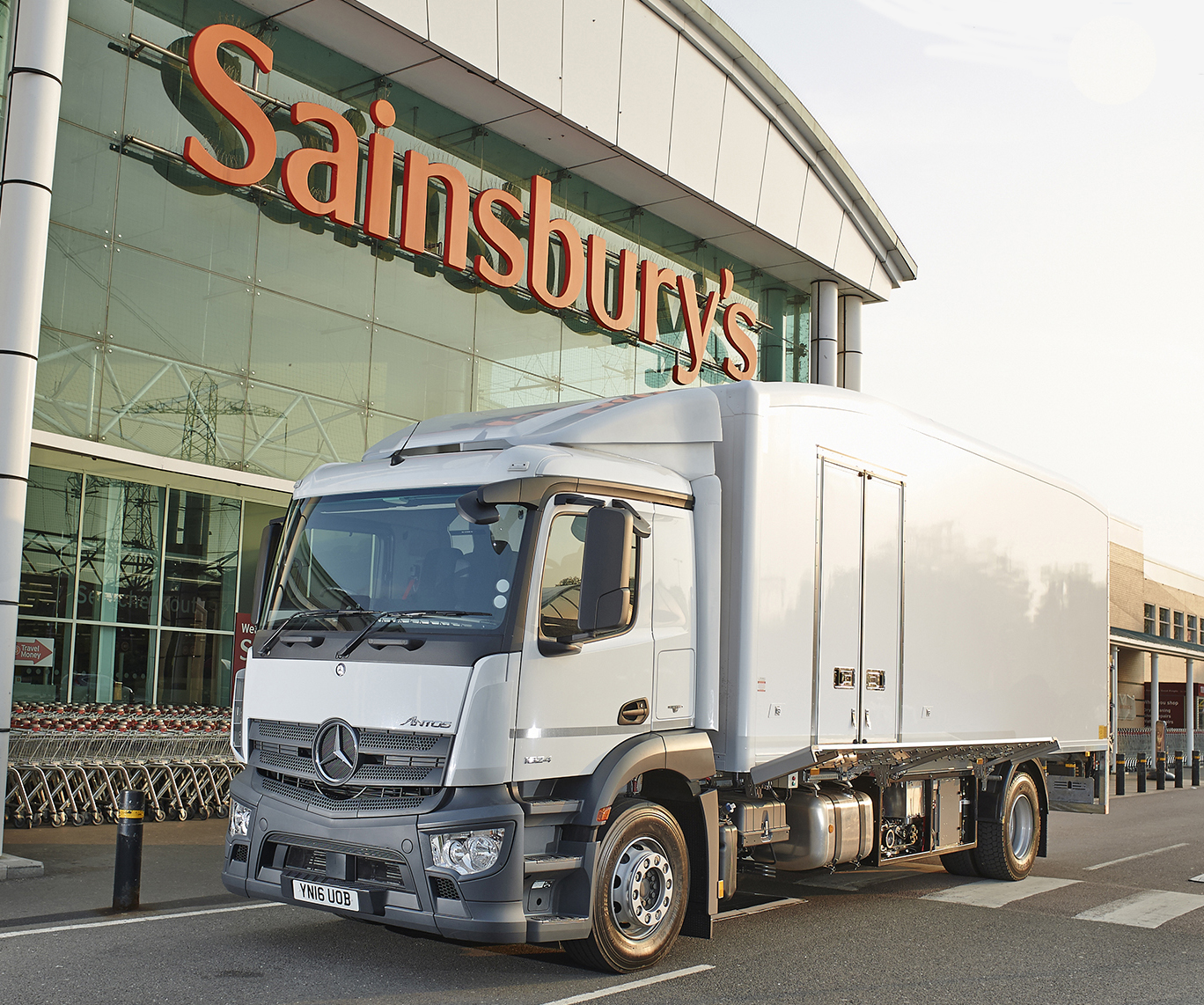 Sainsbury's to trial zero-emission cooling for deliveries