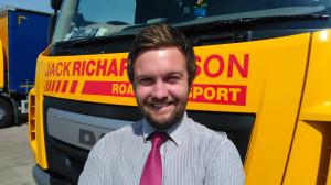 Jack Richards promotes Johnny Weir