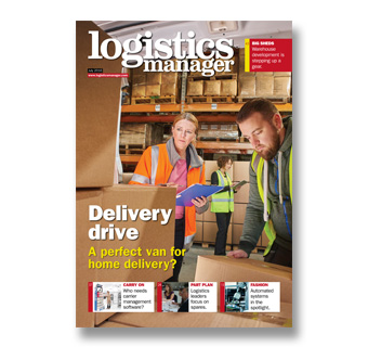 Logistics Manager, July 2016