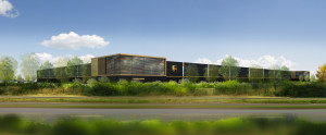 UPS to build $100m hub in France