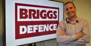 Briggs rebrands defence division