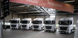 Ekol expands fleet with 150 Mercedes trucks