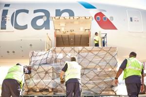 Heathrow cargo record for American