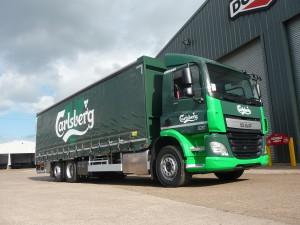 Carlsberg UK is transferring its secondary logistics operations to DHL Tradeteam.