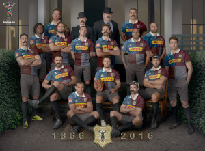 DHL exports Harlequins' retro rugby shirts