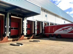 Stertil upgrades loading bays for pharmaceutical distributor
