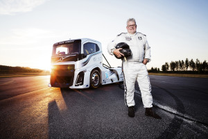 Boije Ovebrink, driver of the 'Iron King'