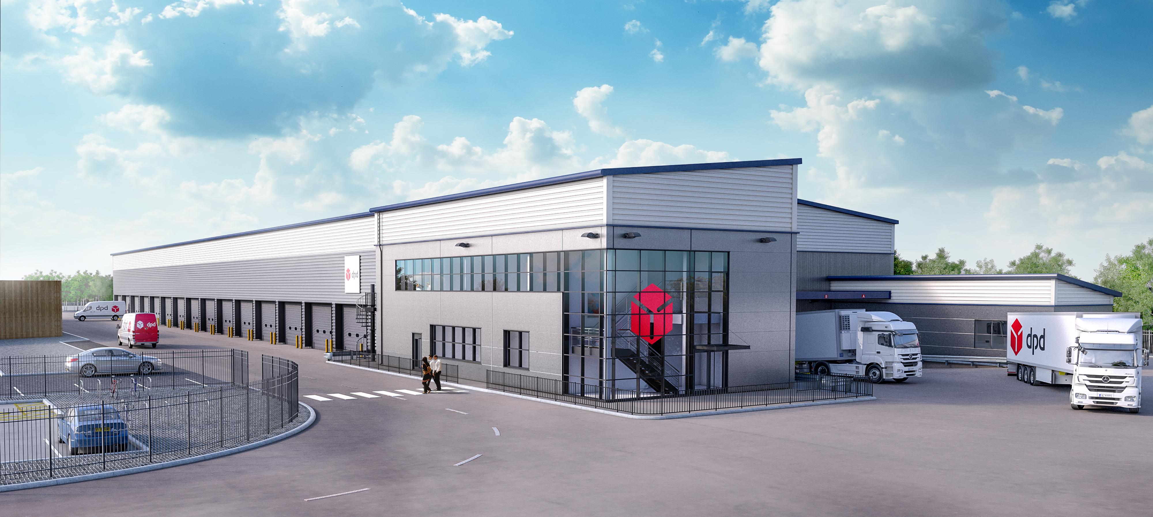 dpd to open 11million oldham dc logistik express fachmedium. Black Bedroom Furniture Sets. Home Design Ideas