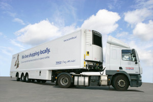 Gray & Adams 15.65m trailer Tesco