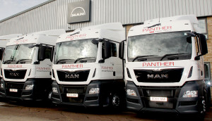 23 new trucks for Panther