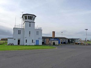 Carlisle Airport.