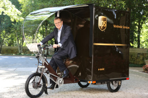 UPS introduces its new eBike delivery