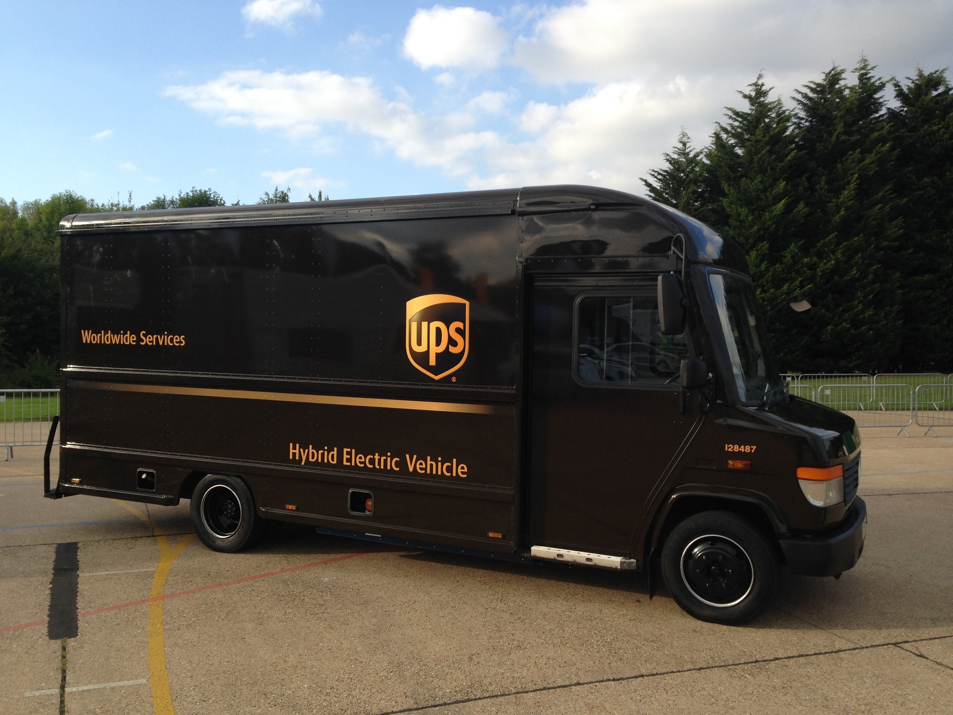 Ups Delivery Logistics Manager Maga...