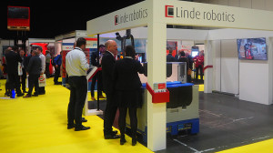Linde Robotics at IntraLogisteX.