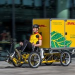 DHL Cubicycle.