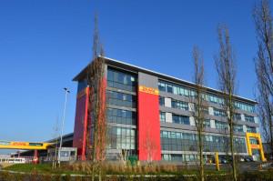 DHL's new Heathrow facility.