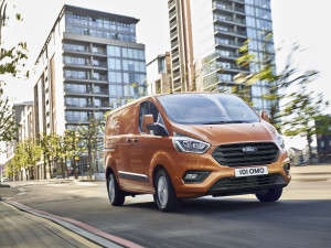 New ford transit released