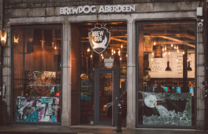 BrewDog's flagship store in Aberdeen.