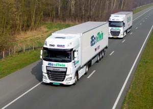 DAF truck platooning