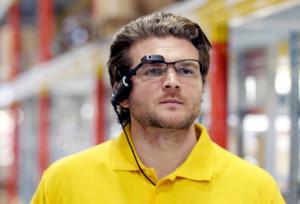 Vision picking at DHL.