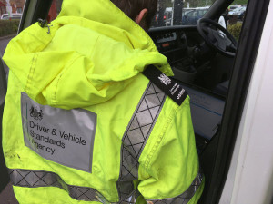 DVSA drivers hours check