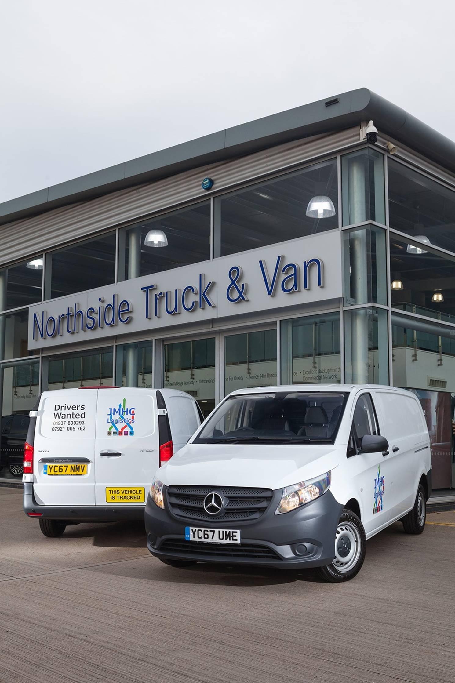 Logistics manager for Northside mercedes benz