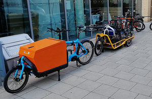 Government £2m for cargo bikes