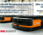IntraLogisteX Connected: How ready is the UK warehousing industry for the robot revolution? – register now!