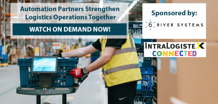 IntraLogisteX Connected: Automation partners strengthen logistics operations together – watch on demand!