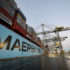 Maersk diverts ships after problems at Felixstowe